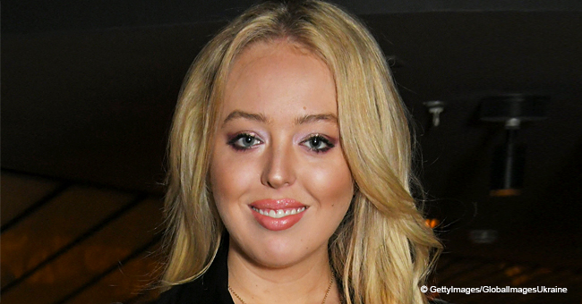 Tiffany Trump Dons Floral Mini-Dress as She Flaunts Her Legs on a Rare Family Outing