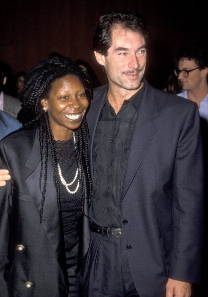 Timothy Dalton and Whoopi Goldberg attend the Sixth Annual International Women in Film Festival | Photo: Getty Images