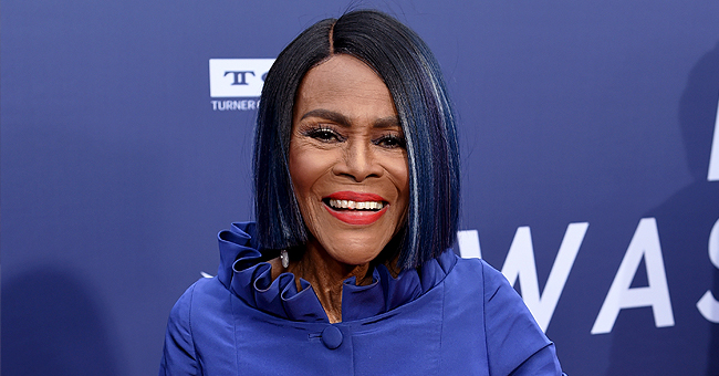 See 94-Year-Old Cicely Tyson in White Dress & Curly Afro Look at Essence Fest