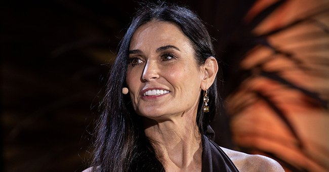 Demi Moore Looks Ageless Gracing the Cover of Vogue Italia in an Elegant Black Ensemble