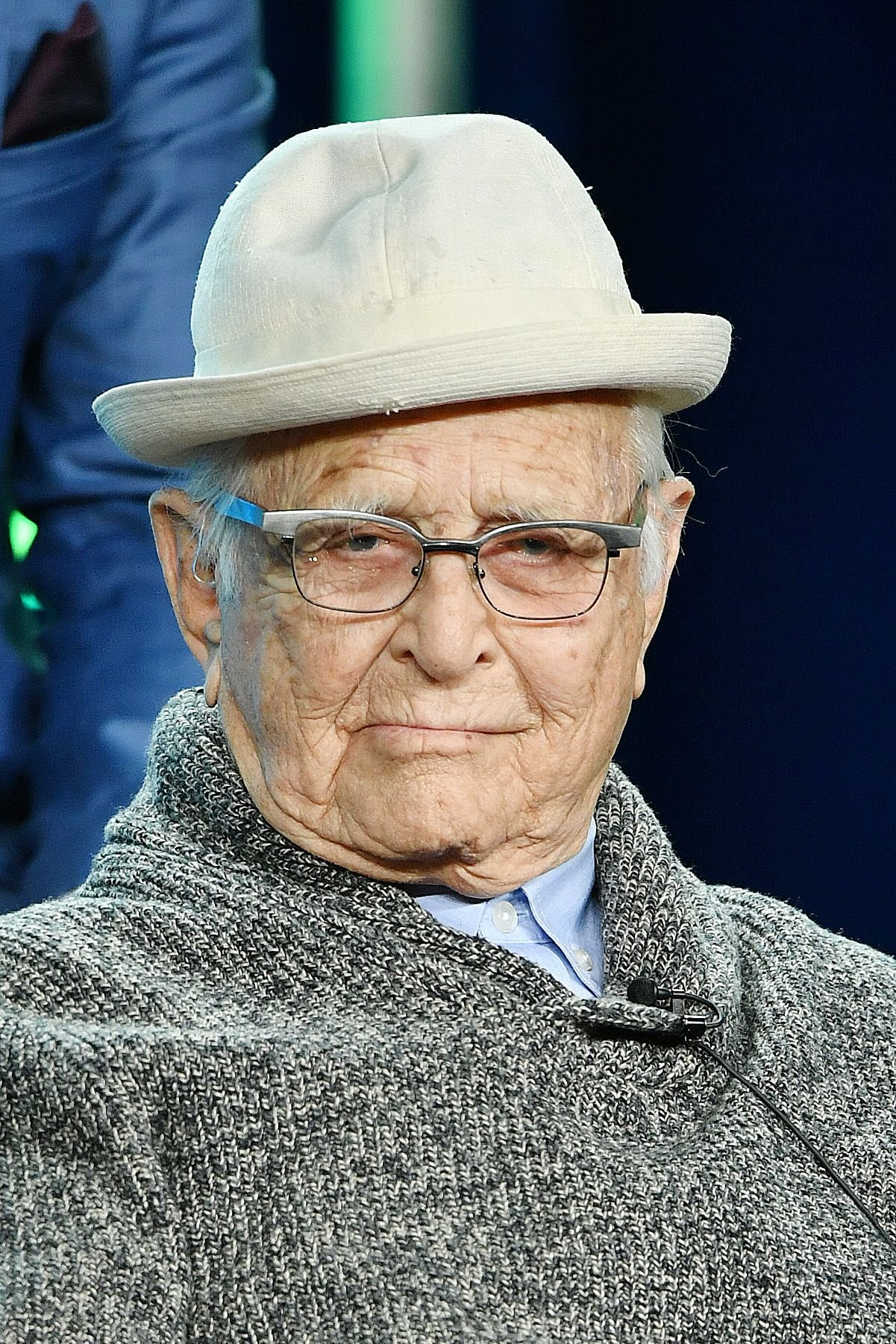"""Norman Lear of """"One Day at a Time"""" at the 2020 Winter TCA Press Tour in Pasadena 