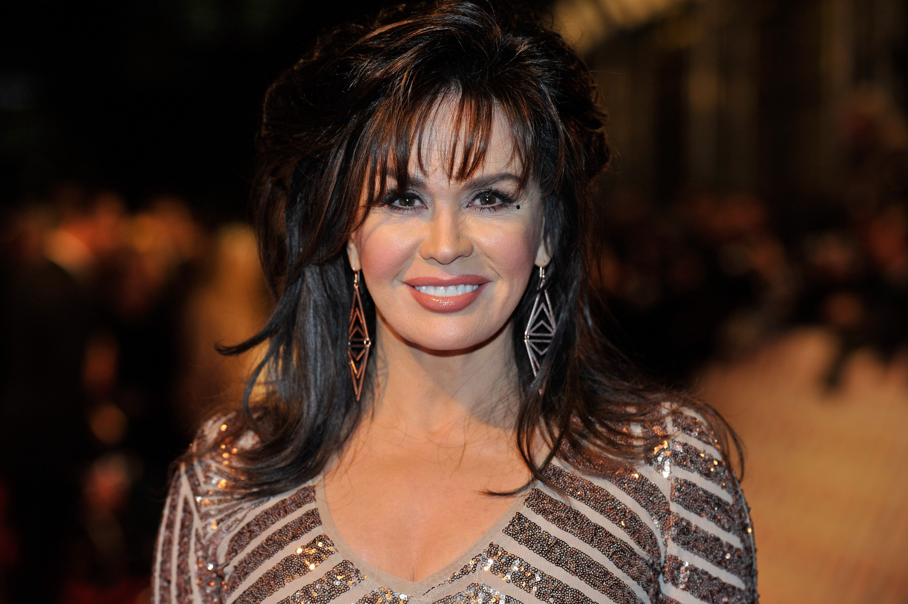 Marie Osmond at the the National Television Awards at 02 Arena on January 23, 2013 | Photo: Getty Images