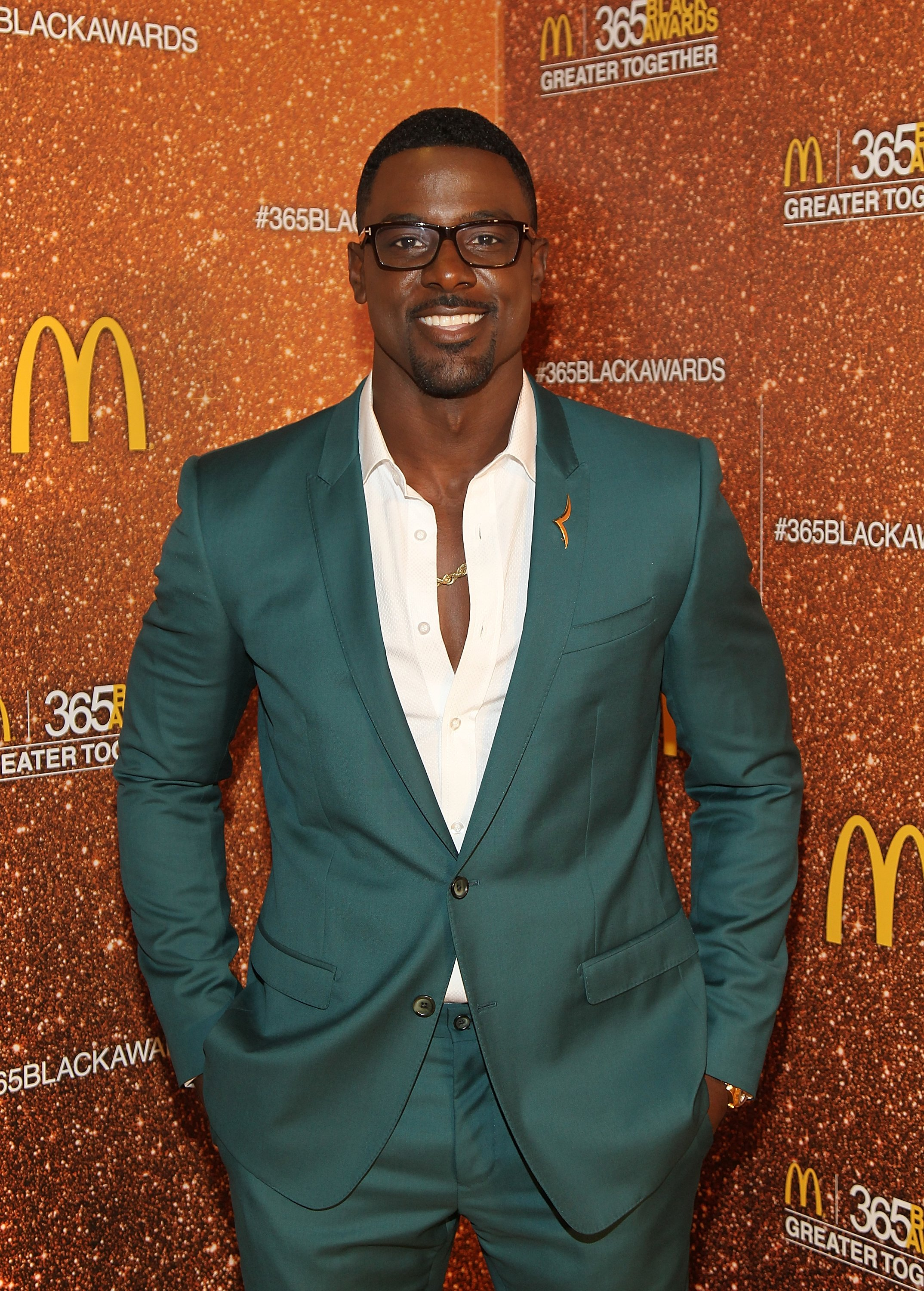 Lance Gross poses at the 13th Annual McDonald's 365 Black Awards on July 1, 2016. | Photo: Getty Images