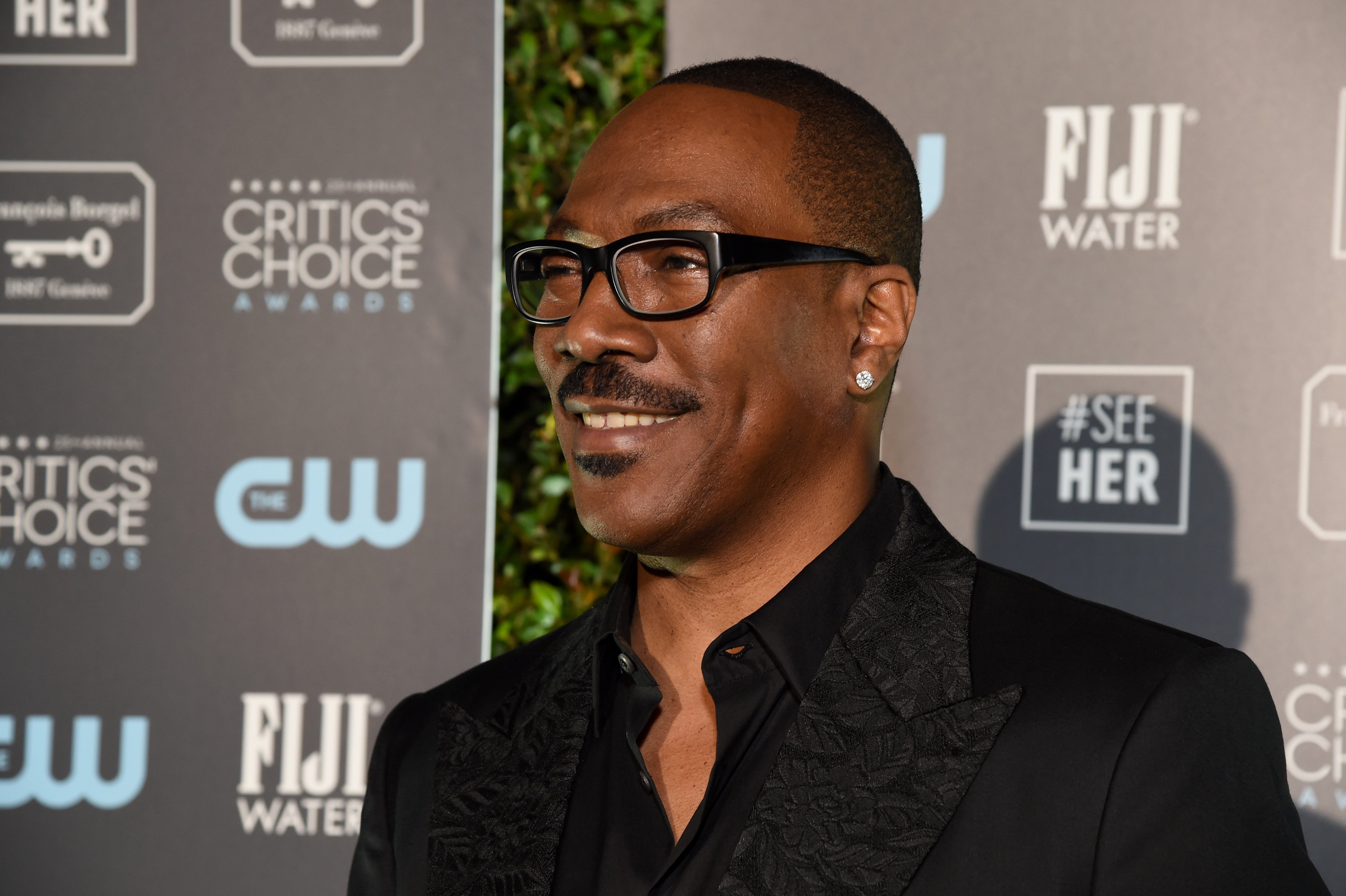 Eddie Murphy at the Critics' Choice Awards on January 12, 2020 in Santa Monica, California. | Photo: Getty Images