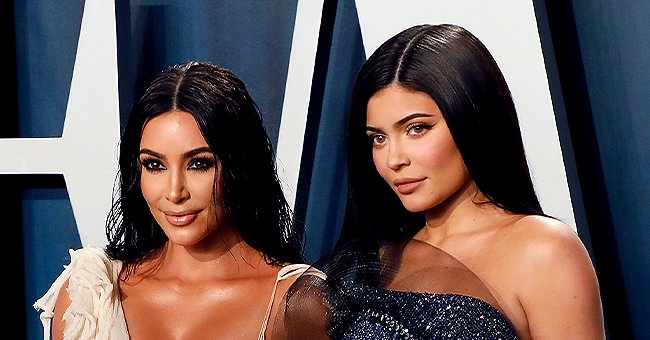 Kim Kardashian & Kylie Jenner Leave Little to Imagination Posing in Swimsuits in a New Photo
