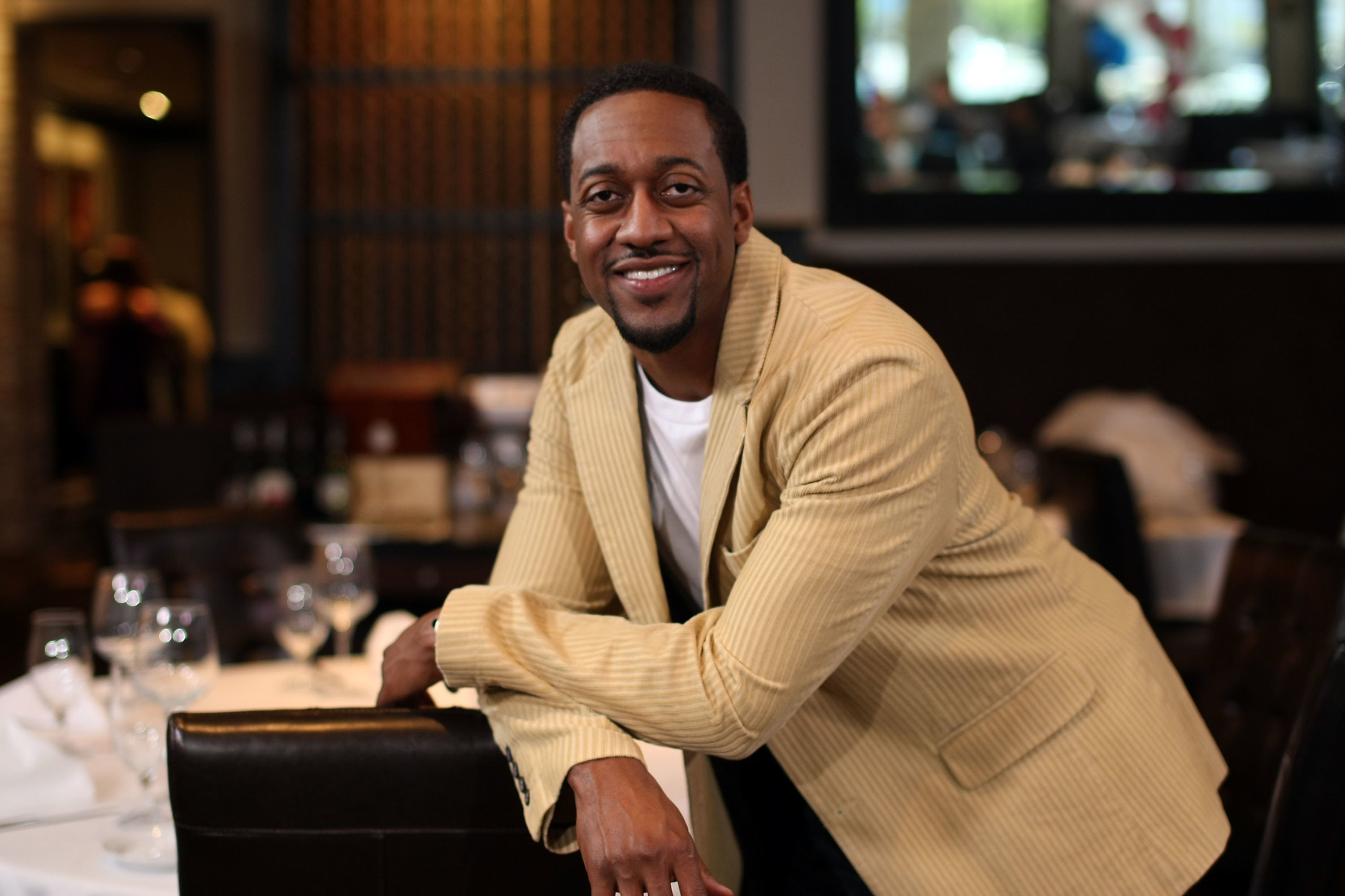 A portrait of Jaleel White at a restaurant | Source: Getty Images/GlobalImagesUkraine