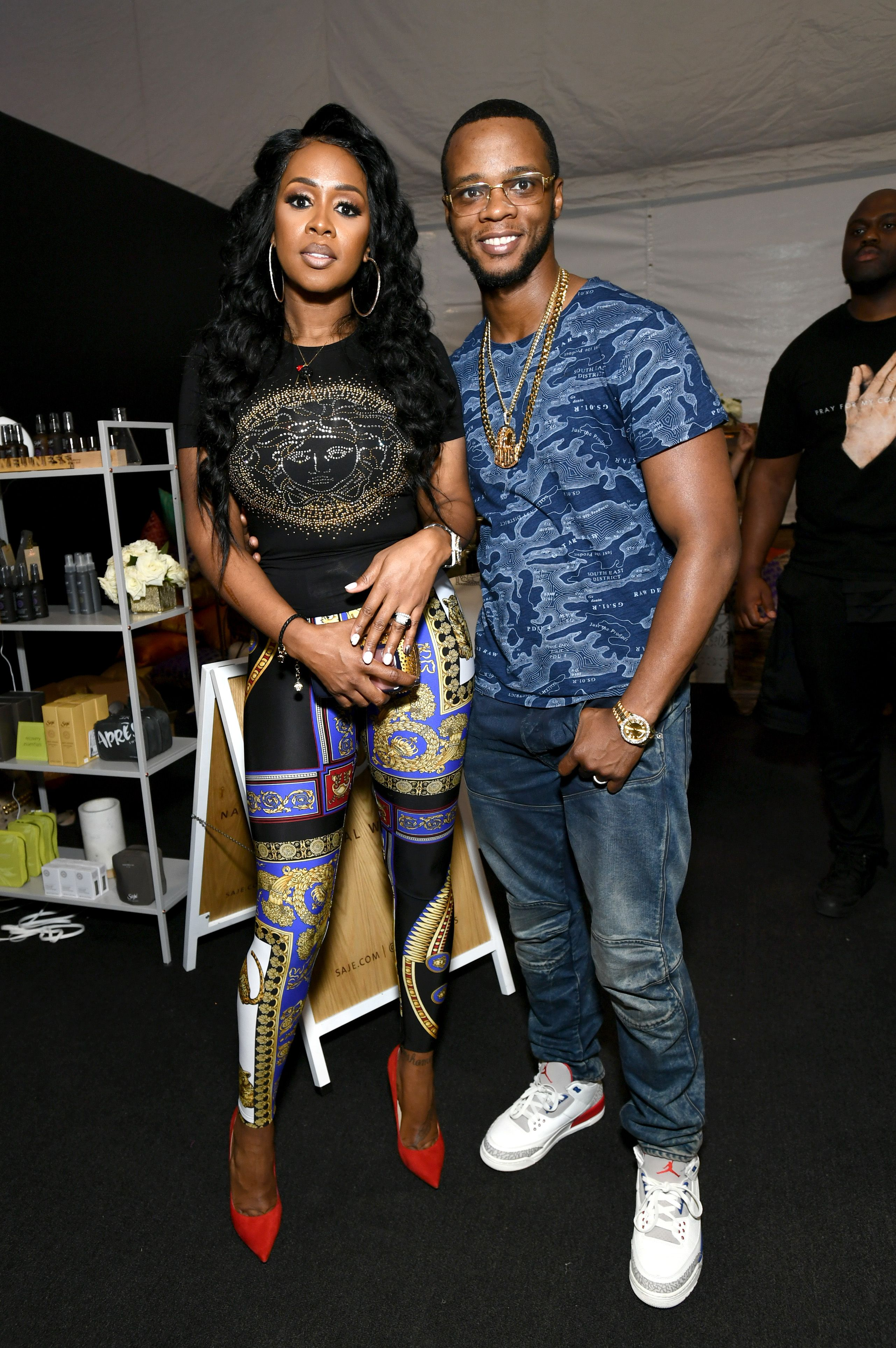 Papoose and rapper Remy Ma at the BET Awards gift lounge on June 22, 2018 in Los Angeles. | Photo: Getty Images