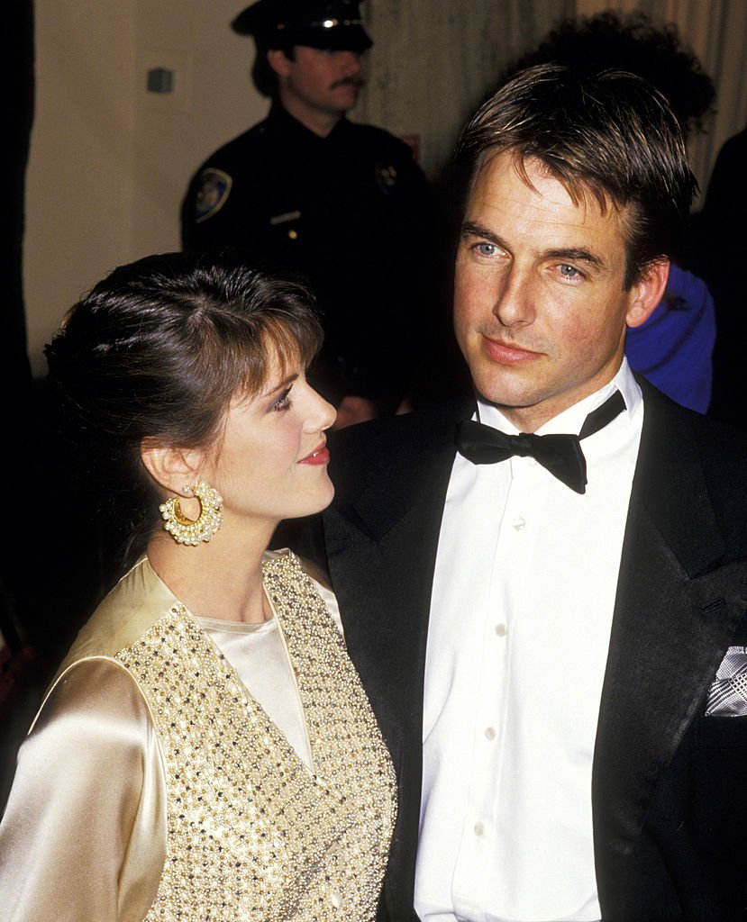 Pam Dawber and Mark Harmon at the 44th Golden Globe Awards | Photo: Getty Images