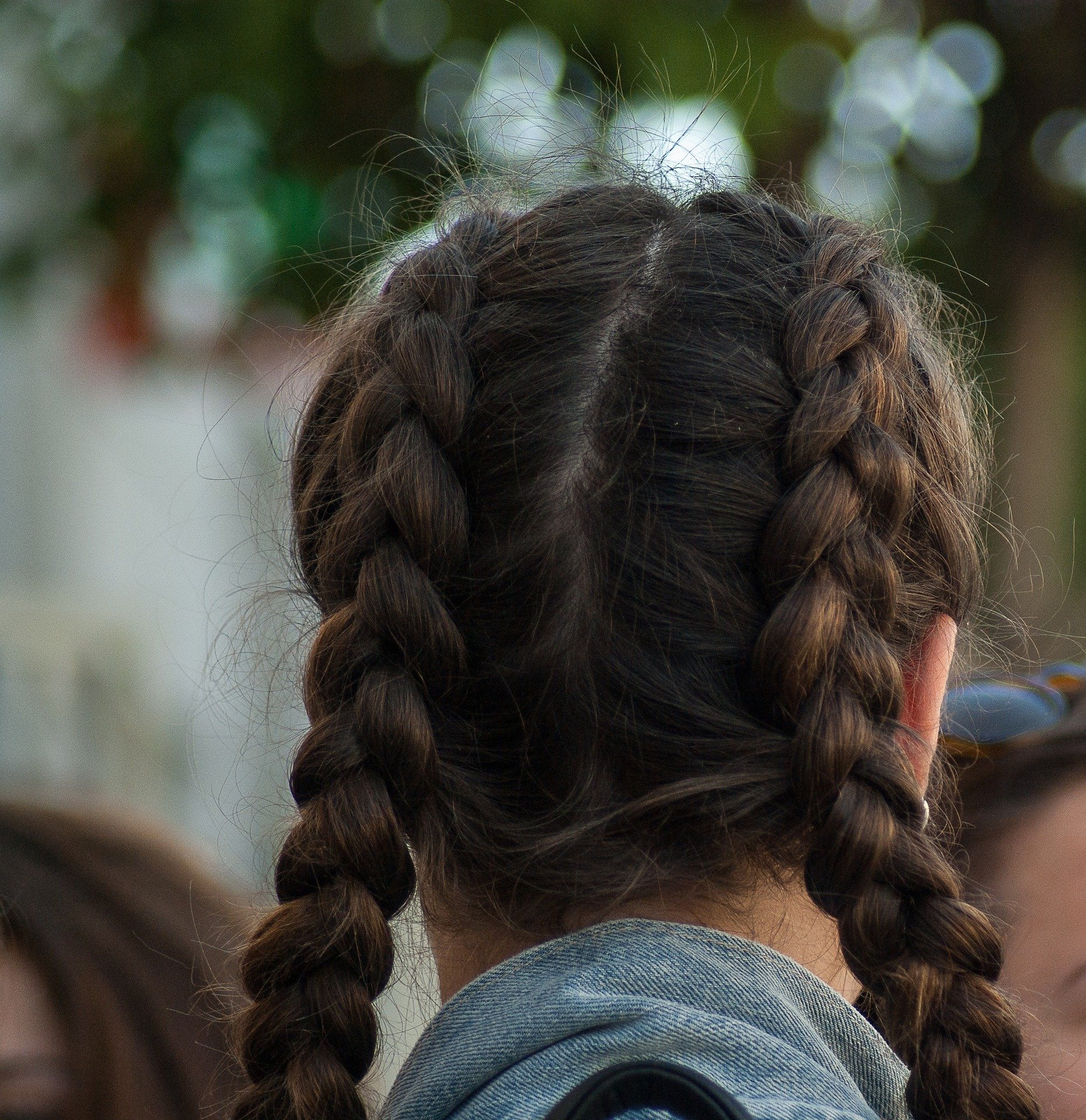 Pictured - A Double Dutch hairstyle   Source: Pixabay