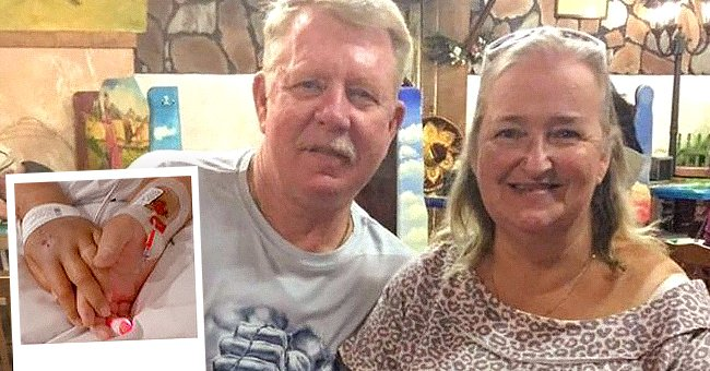 Cal and Linda Dunham smile for a side-by-side photo.   Source: twitter.com/TheSun