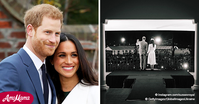 Meghan and Harry Share an Unseen Throwback Photo as They Launch Their Own Instagram Account