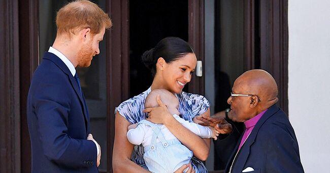 """Le prince Harry admet qu'Archie """"faisait plus de bruit"""" pendant la tournée en Afrique"""