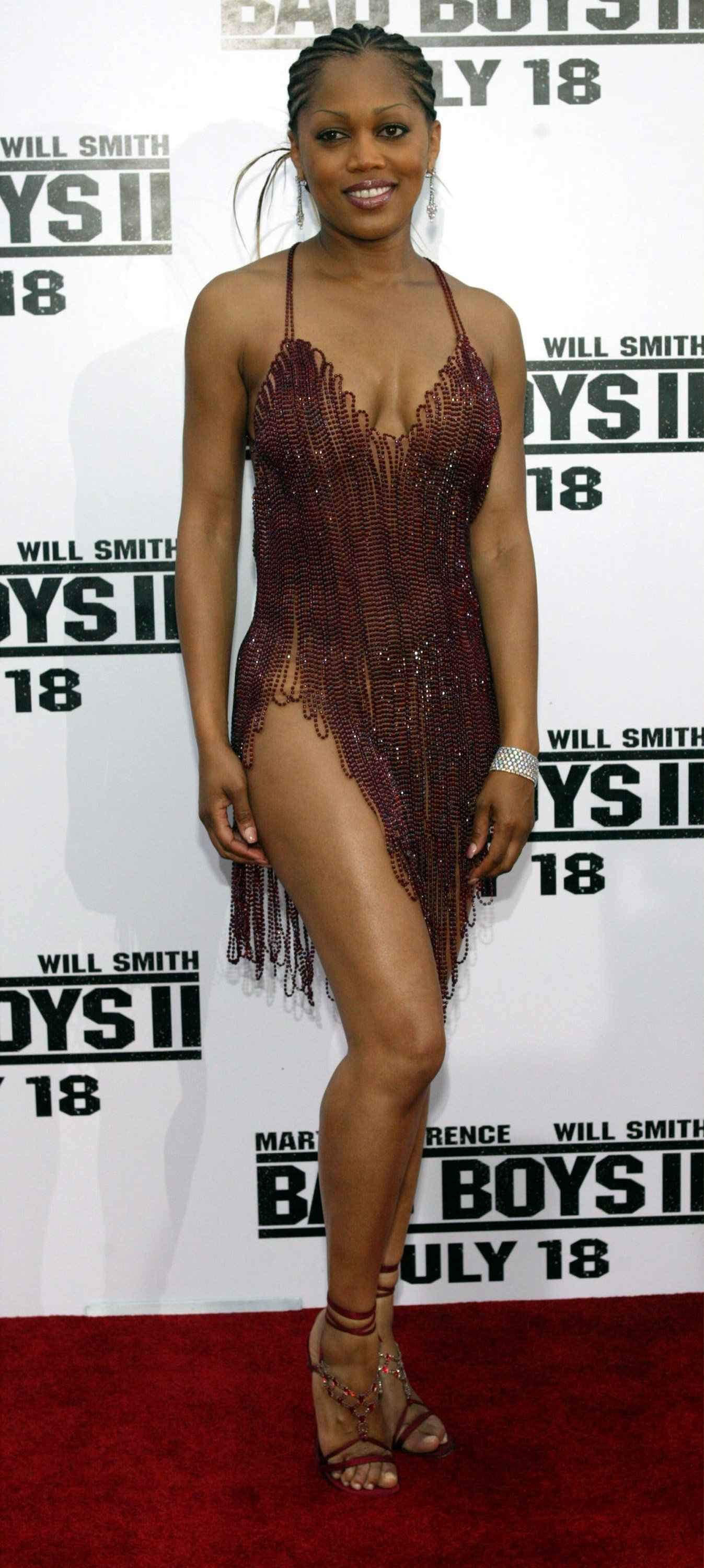 Theresa Randle at the Mann Village and Bruin theater on July 9, 2003 | Source: Getty Images