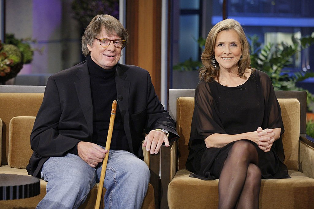 Richard Cohen and Meredith Vieira during an interview on November 9, 2012 | Photo: Getty Images