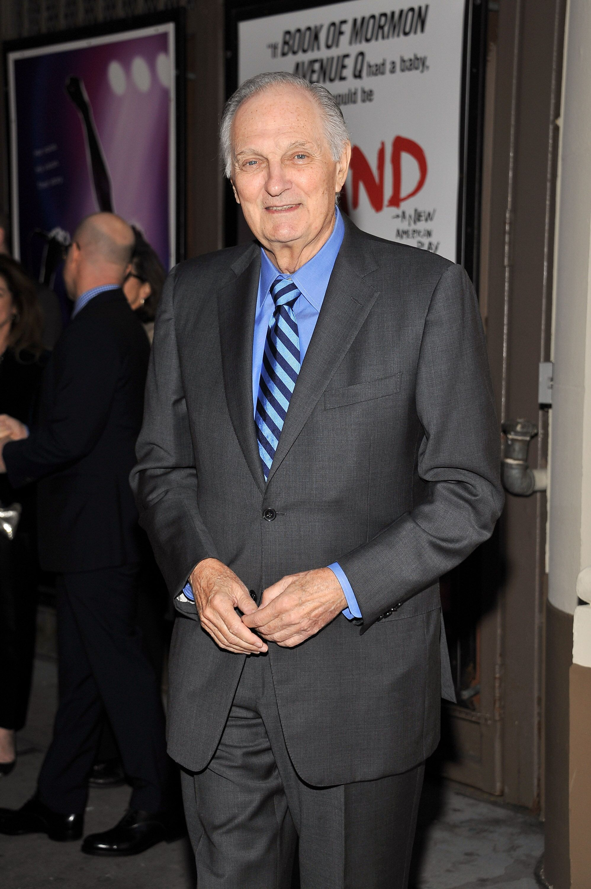 "Alan Alda at the ""Sylvia"" opening night held at Cort Theatre on October 27, 2015, in New York City 