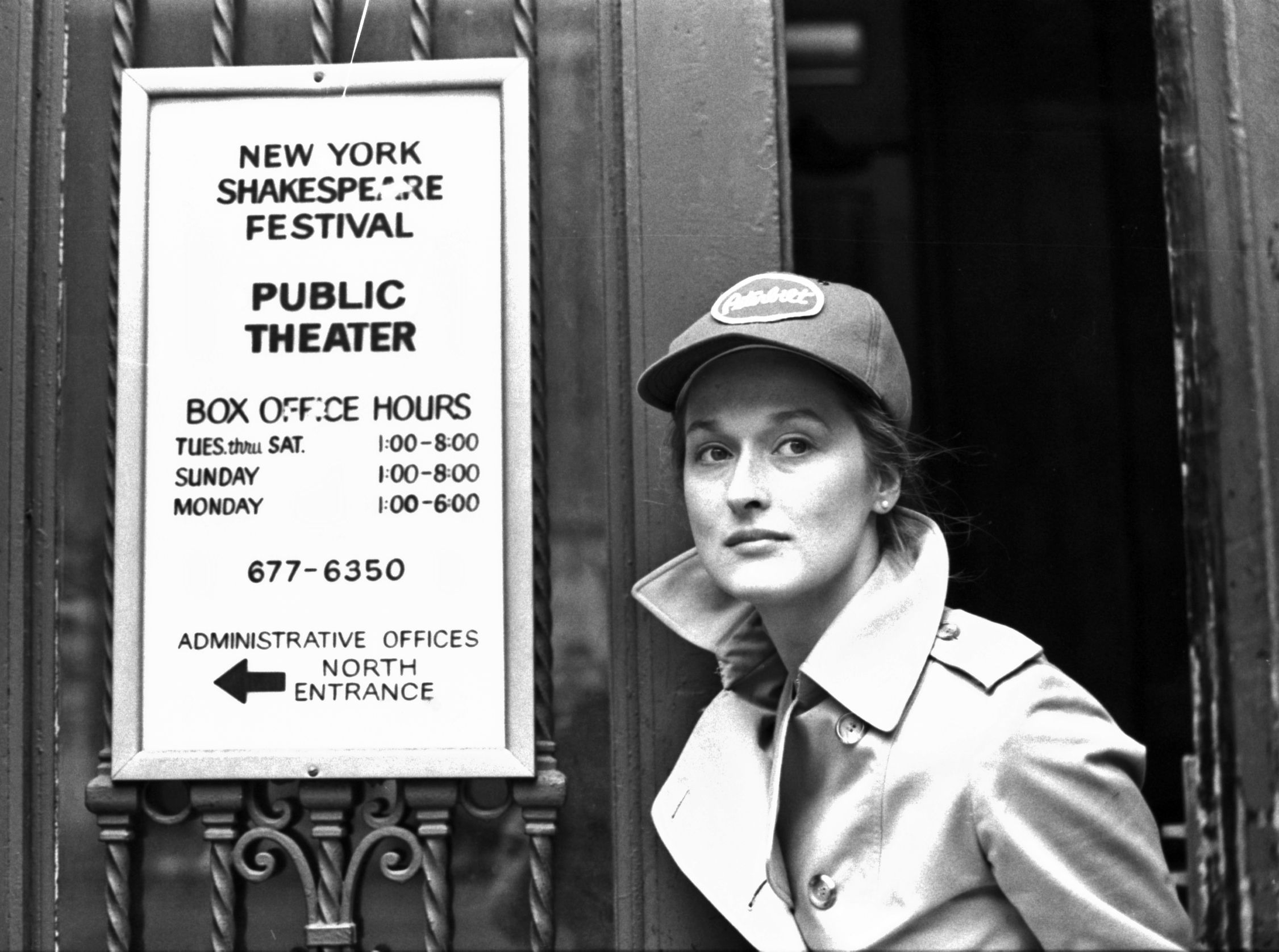 Meryl Streep at Joseph Papp's Public Theater in January 1979 | Source: Getty Images