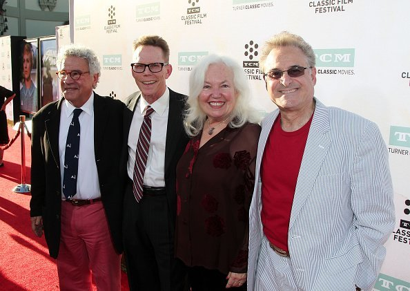 """Actors Michael Tucci, Kelly Ward, Jamie Donnelly and Barry Pearl attend the 2015 TCM Classic Film Festival Opening Night Gala 50th anniversary screening of """"The Sound Of Music"""" at TCL Chinese Theatre IMAX on March 26, 2015, in Hollywood, California. 
