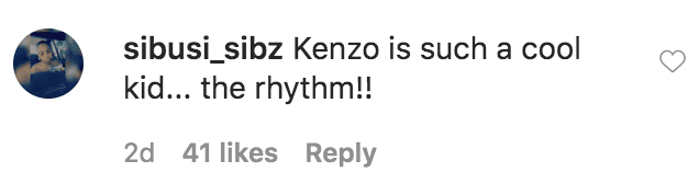 A fan commented on Kimora Lee Simmons video of her children, Aoki Lee Simmons. Kenzo Lee Hounsou, Wolfe Lee Leissner and Gary dancing in a video for Tik Tok | Source: Instagram.com/kimoraleesimmons