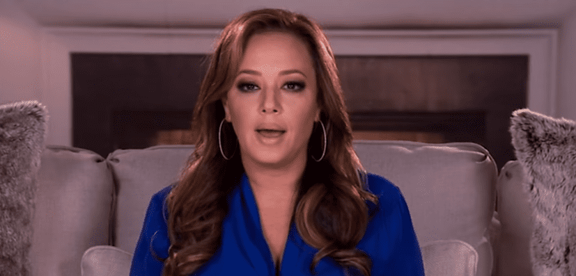 Leah Remini talks about motherhood during interview | Photo: YouTube/TLC