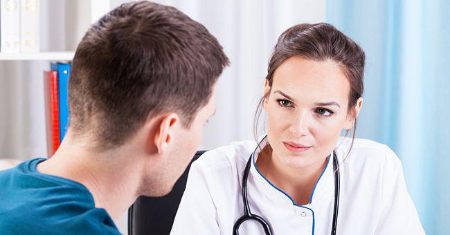 Daily Joke: Nervous Dad Who's Afraid Newborn Child Isn't His Visits the Obstetrician