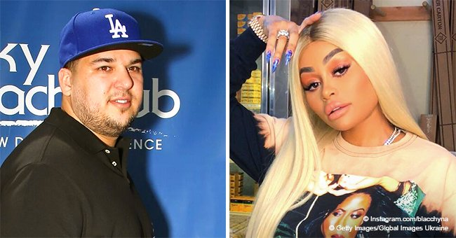 Blac Chyna counters Robert Kardashian's abuse claims with his own deposition