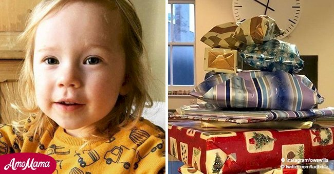 Elderly man dies secretly leaving presents for 2-year-old neighbour