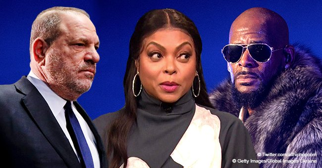 Taraji P. Henson claims her remarks about R.Kelly and Harvey Weinstein were misinterpreted