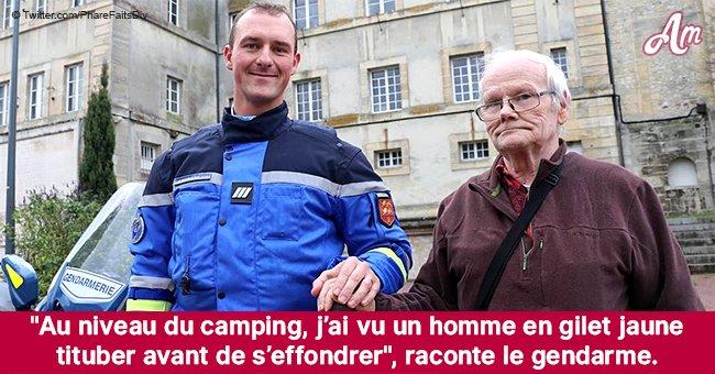 Bayeux: un gendarme qui a sauvé un «gilet jaune» d'un malaise cardiaque témoigne