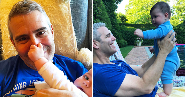 Andy Cohen Enjoys Their First Summer Together Holding His Baby Son Benjamin (Photo)