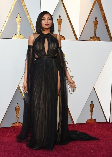 Taraji P. Henson on March 4, 2018, in Hollywood, California. | Photo: Getty Images