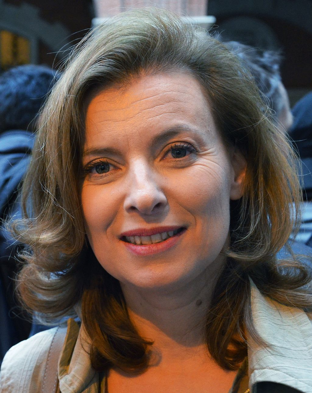 Valérie Trierweiler en 2012 | Photo: Wikimedia Commons