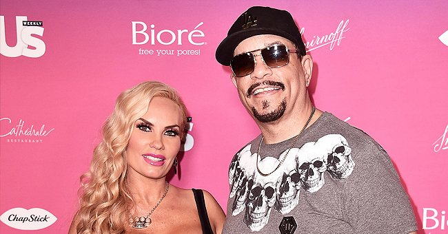 Ice-T's Wife Coco Austin Pours Her Enviable Figure into a Skintight Versace Jumpsuit (Poses)