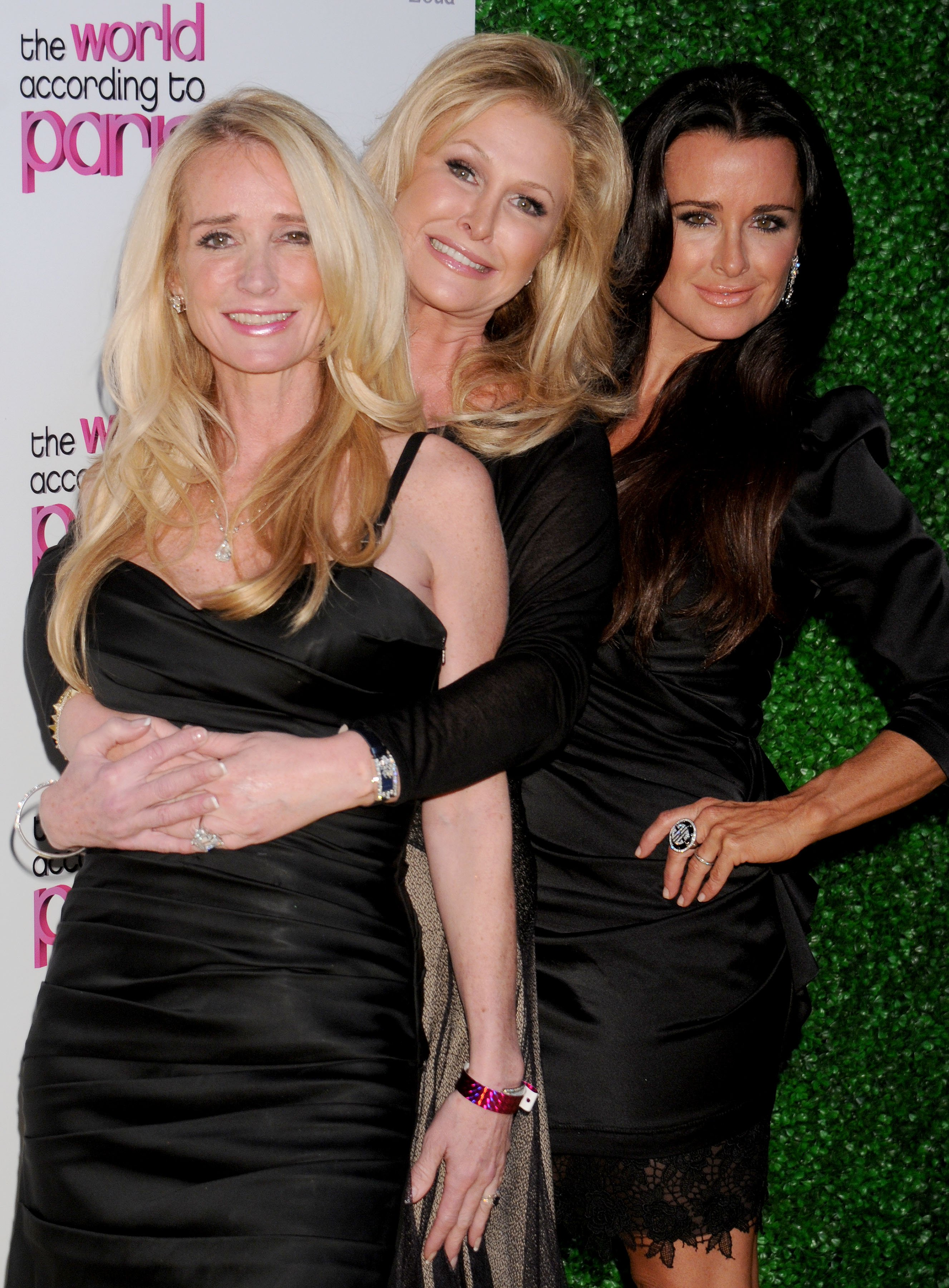 """Kim Richards, Kathy Hilton, and Kyle Richards at the """"The World According to Paris"""" Premiere Party in Hollywood, 2011"""