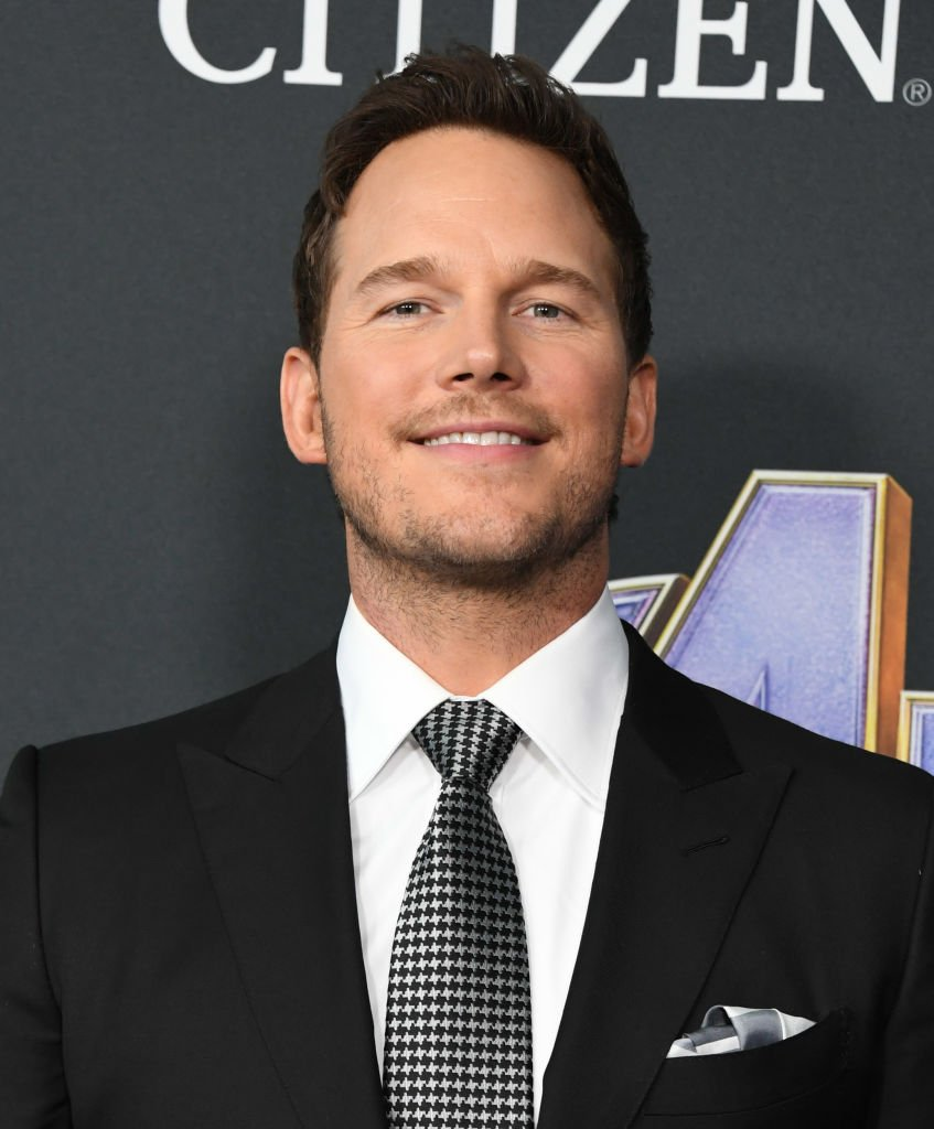 """Chris Pratt attends the World Premiere Of Walt Disney Studios Motion Pictures """"Avengers: Endgame"""" at Los Angeles Convention Center 