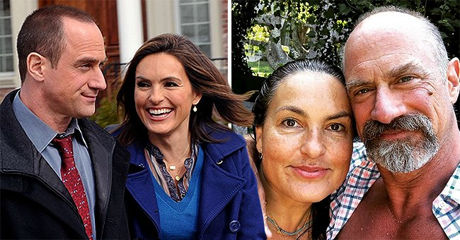 'Law & Order' Stars Chris Meloni and Mariska Hargitay Reunite for a Cute Selfie Together