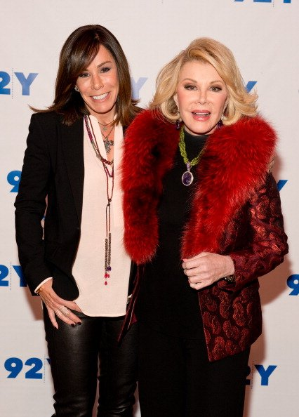 Melissa Rivers et Joan Rivers assistent à la 92nd Street Y à New York City | Photo : Getty Images
