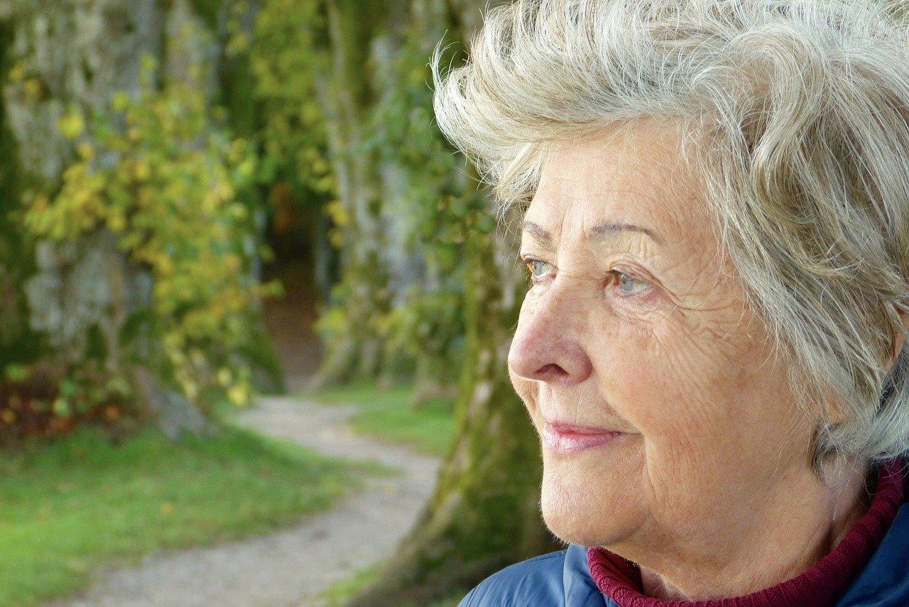 Une vieille femme   Source : Pixabay