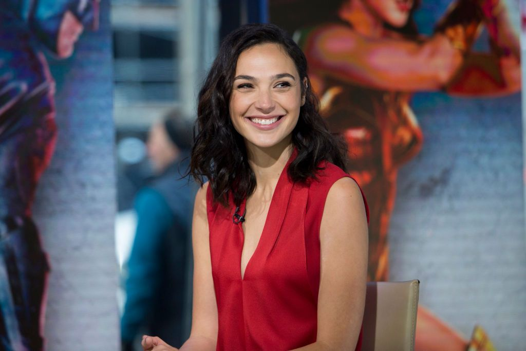 """Gal Gadot at """"Today"""" on Wednesday November 15, 2017. 