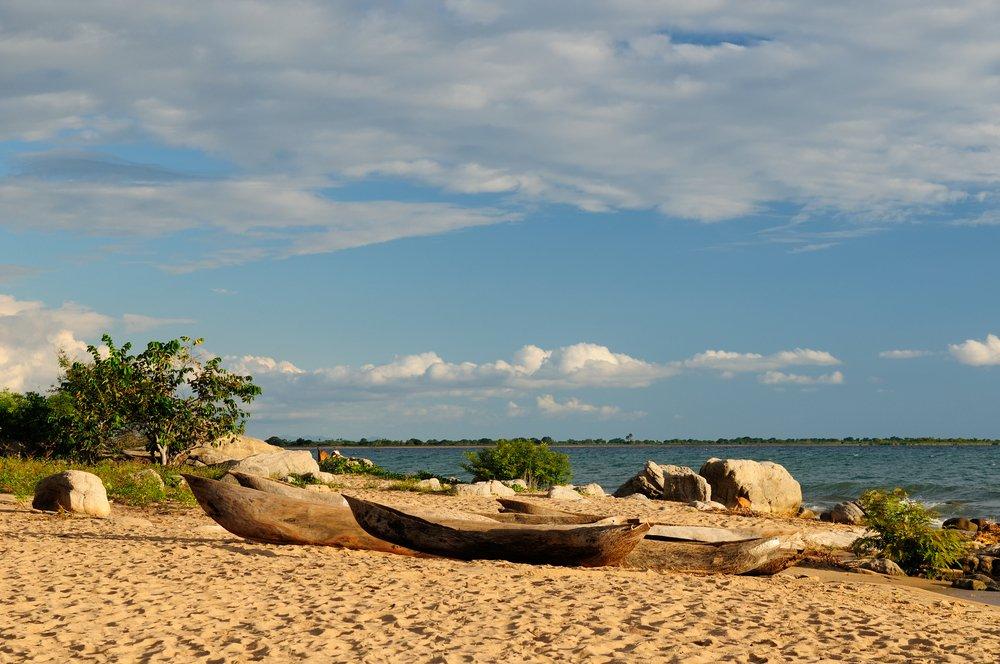 Tanzania, el lago Malawi (Nyasa) es el tercer lago más grande de África y es un Gran Lago africano. | Fuente: Shutterstock
