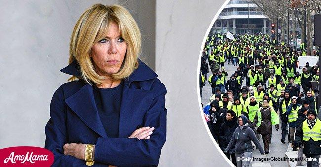 Closer : Brigitte Macron aurait dû renoncer à plusieurs sorties privées à cause de Gilets jaunes