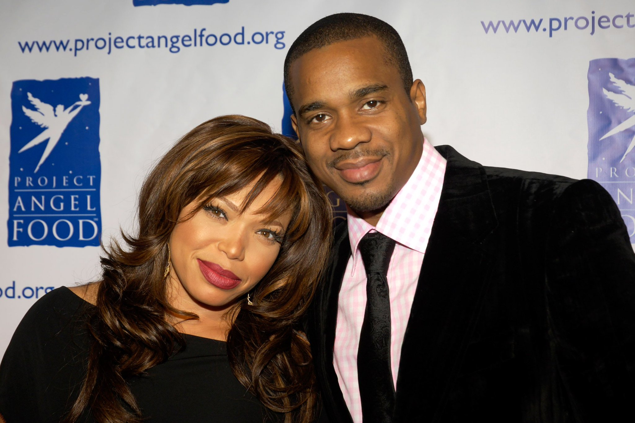 Tisha Campbell with Duane Martine | Twitter: @TheSource