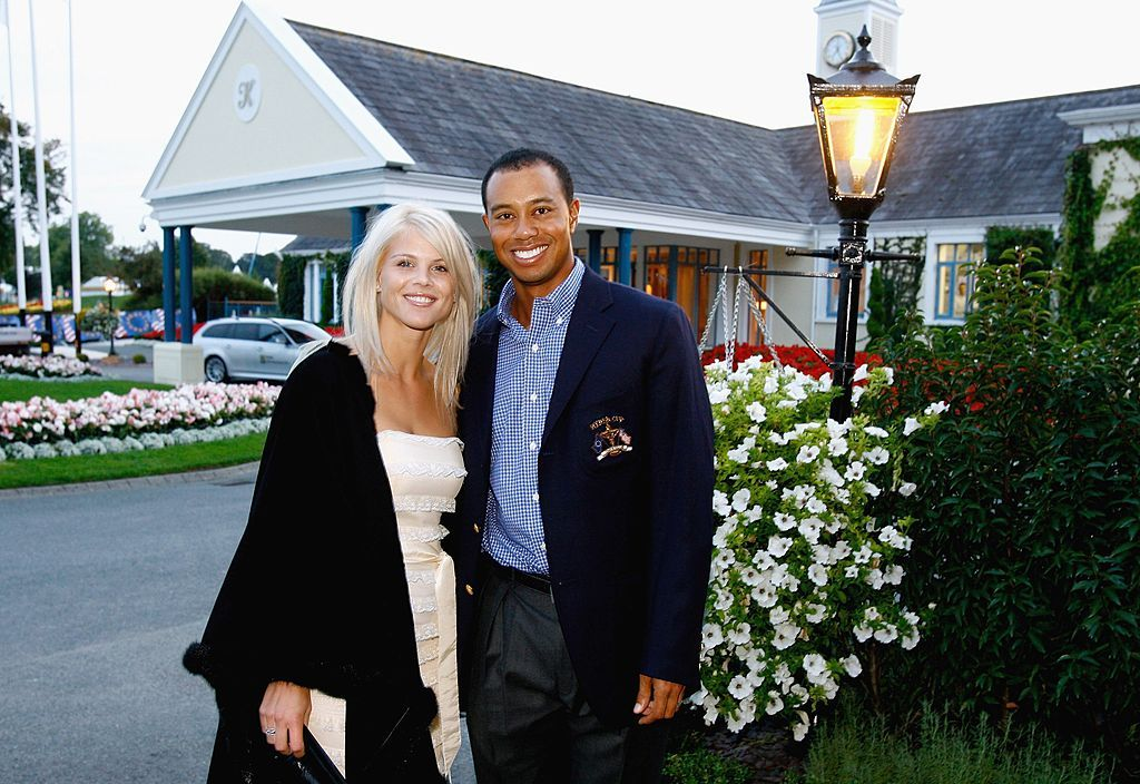 Tiger Woods with his then-wife Elin Nordegren at the 2006 Ryder Cup in Kildare, Ireland | Source: Getty Images