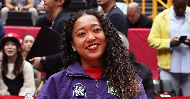 Tennis Star Naomi Osaka Shows off Long Legs in Skimpy Black Shorts and Sweater — See the Snaps