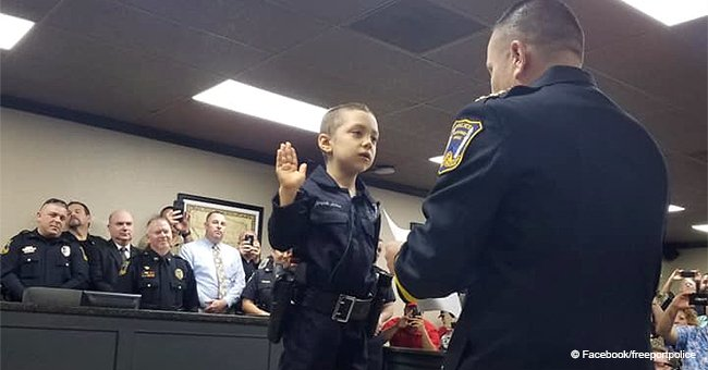 6-year-old girl with cancer told 'it's time to enjoy some life' – gets sworn in as police officer