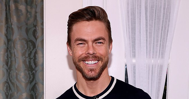 Derek Hough Dishes on What the Holidays Are like with Sister Julianne and the Rest of Their Family