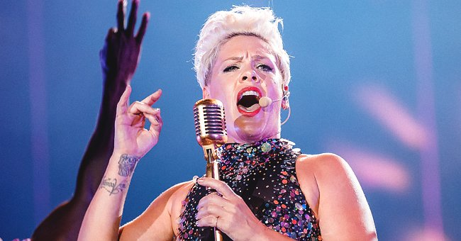 Pink Is Going into Holiday Season with New Shaved Hairstyle as She Shared a Photo of Her Buzz Cut