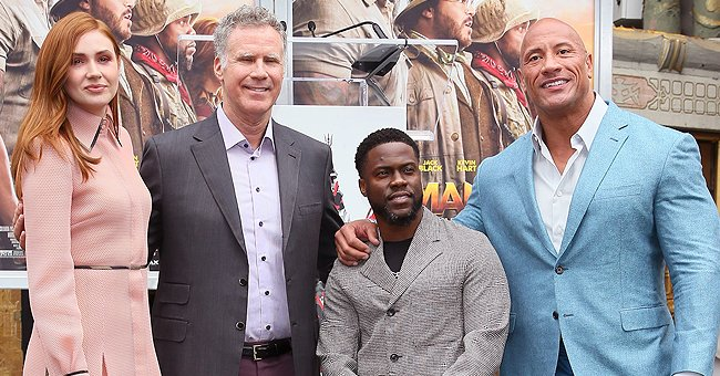 Kevin Hart from 'Jumanji' Reflects on the Year He's Had after His Hand and Footprint Ceremony at the TCL Chinese Theatre