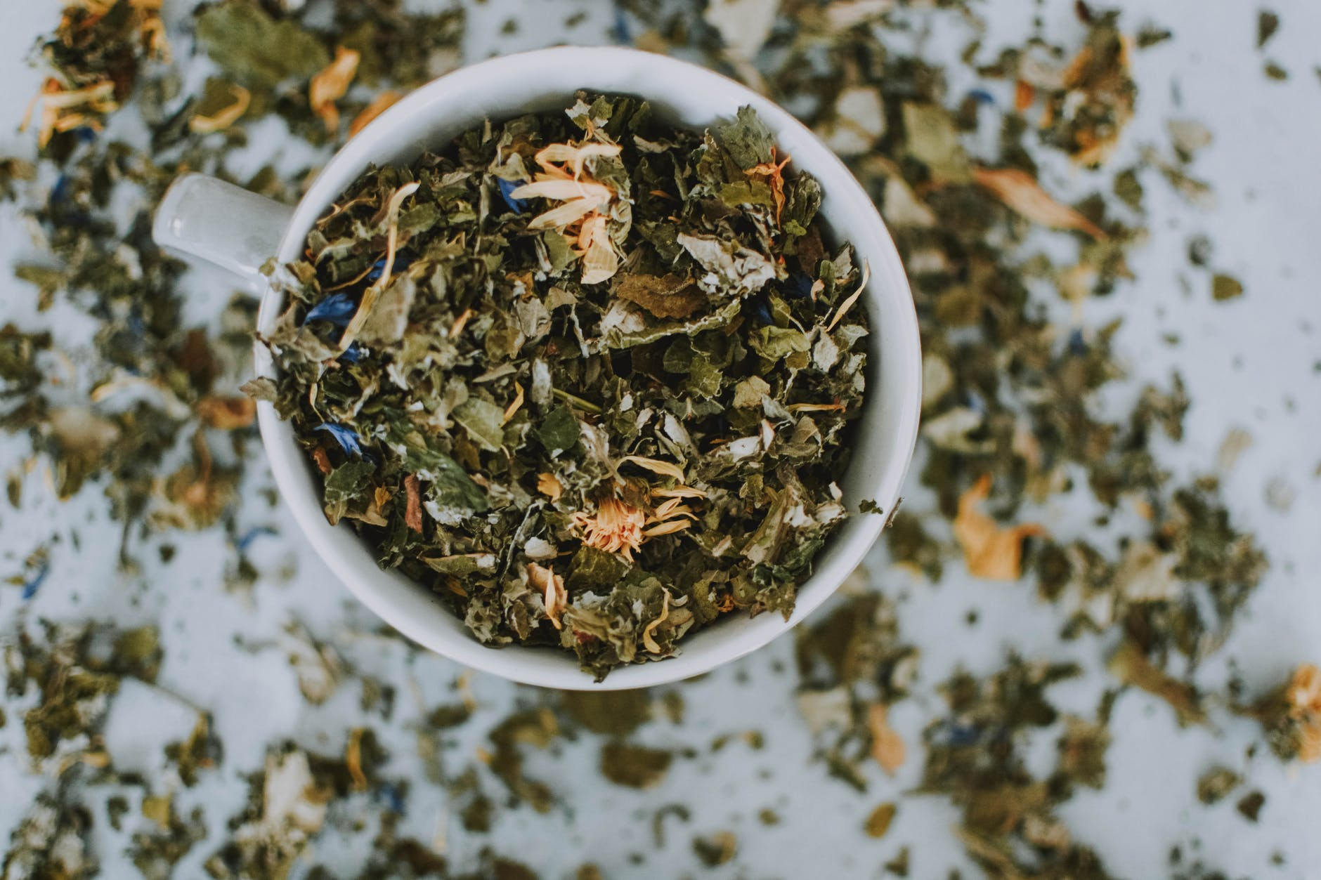 Caffeine-rich green tea | Source: Pexels
