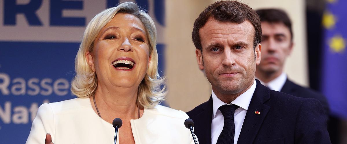 """Les propos de Marine Le Pen, visant Macron, après leur """"victoire"""" aux éléctions 2019"""