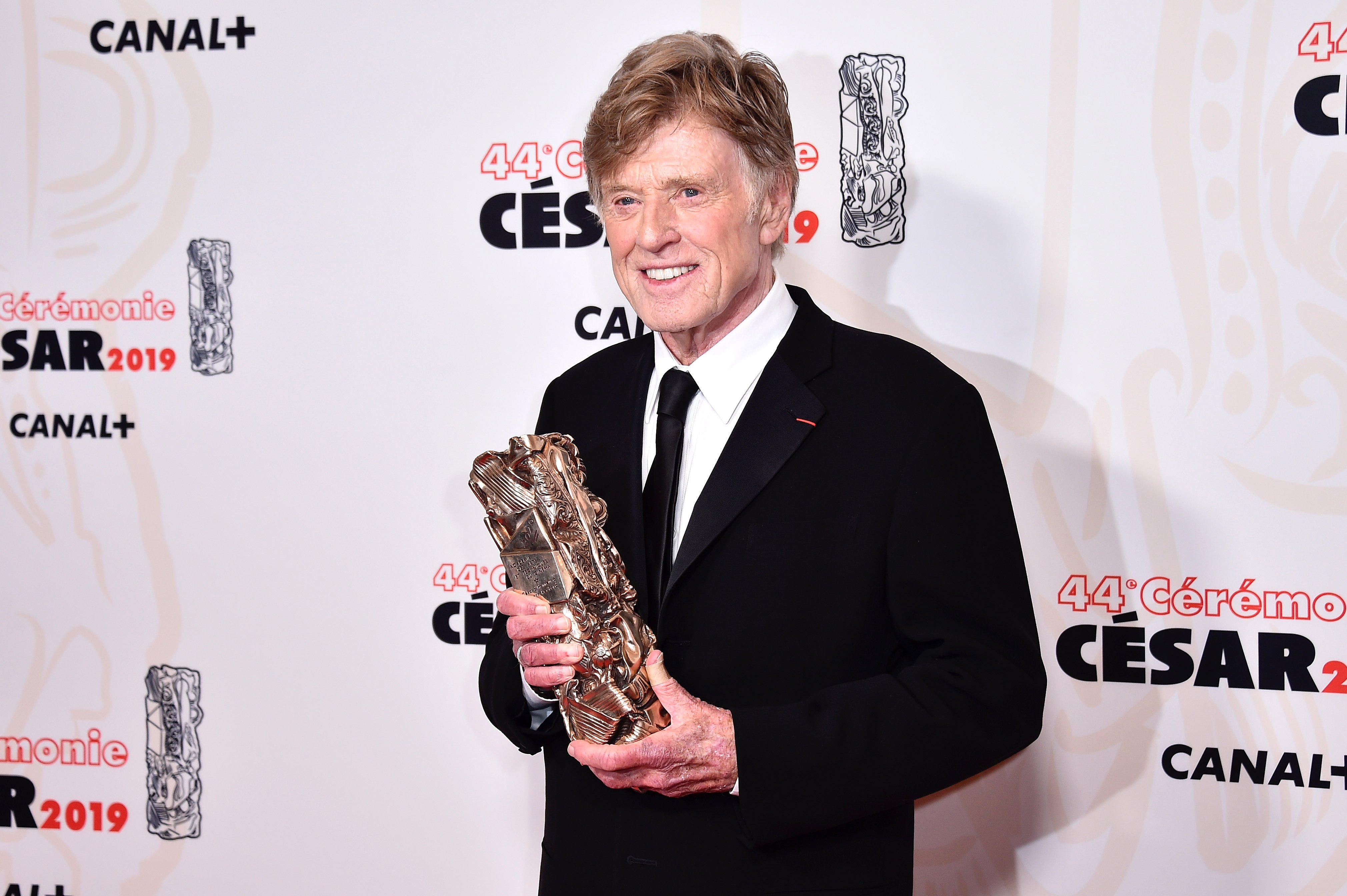 Robert Redford at the Cesar Film Awards 2019 on February 22, 2019   Photo: Getty Images